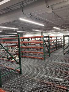 pallet rack, Mezzanine System, Western Storage and Handling, Western Storage,