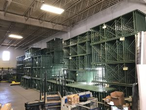 Pallet rack, Denver, Colorado Springs, Colorado