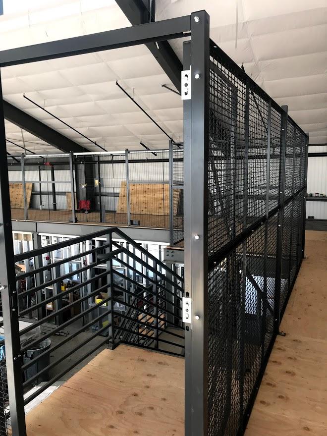 Wire Mezzanine second floor