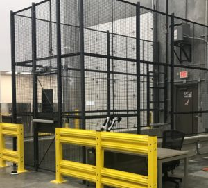 Receiving Dock Security Cage