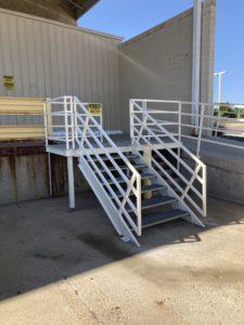 Receiving Dock Stairs